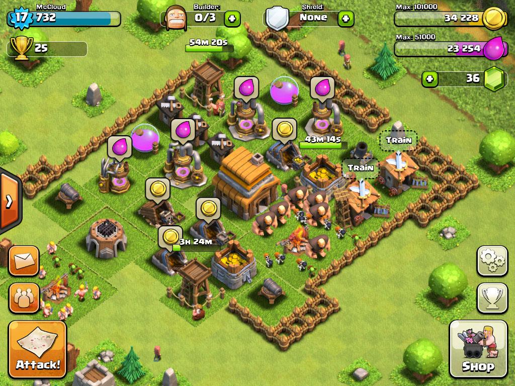 clash clans prima