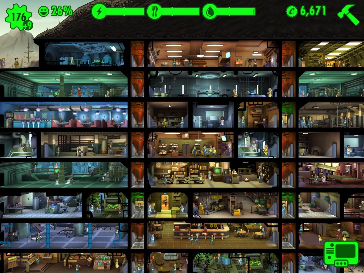 fallout shelter prima