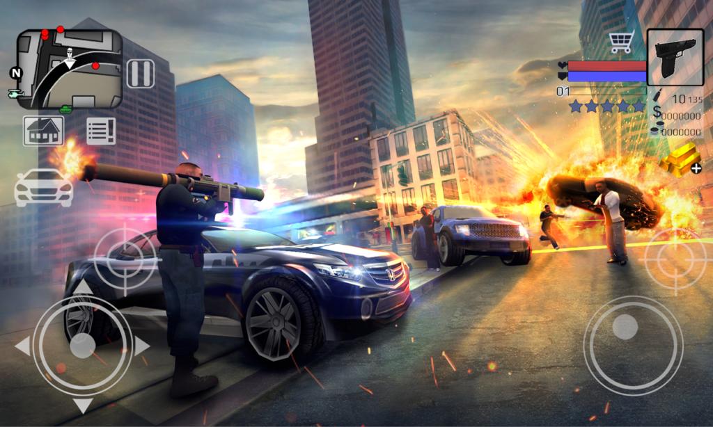 Police vs Gangstar New York 3d