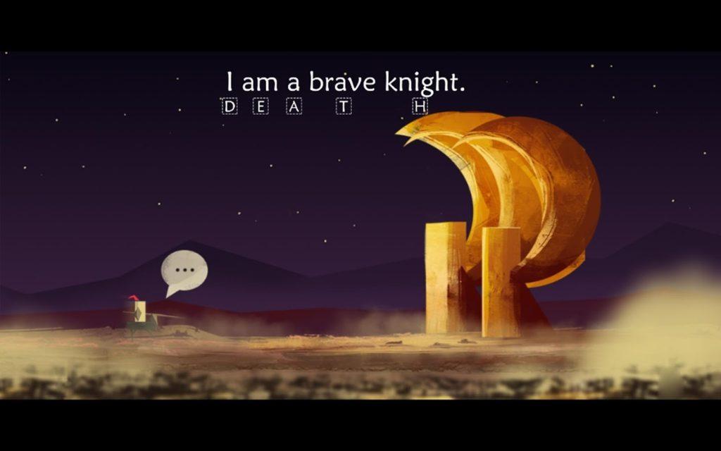 i am a brave knight