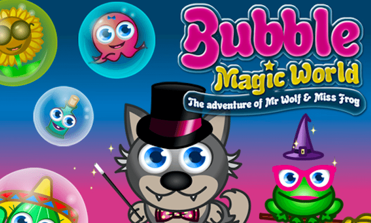 Bubble Magic Wolf
