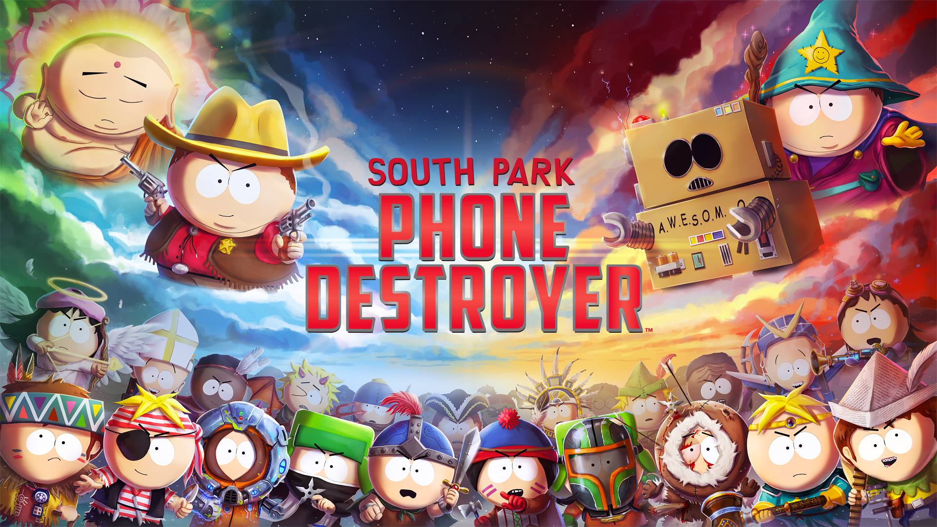 Ubisoft annuncia South Park: Phone Destroyer